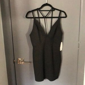 Black dress from Tobi